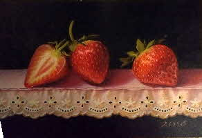 three strawberries by tonkinson