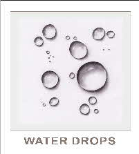 excercise water drops